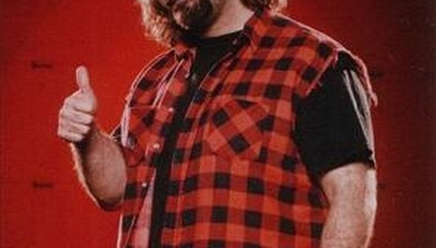 Make a WWE Mick Foley Costume