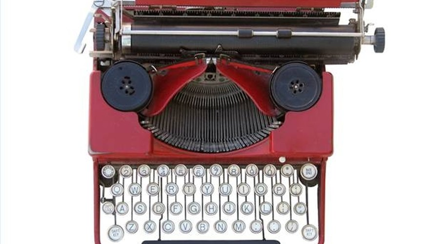 How Does a Typewriter Work?