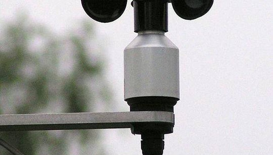 An anemometer.