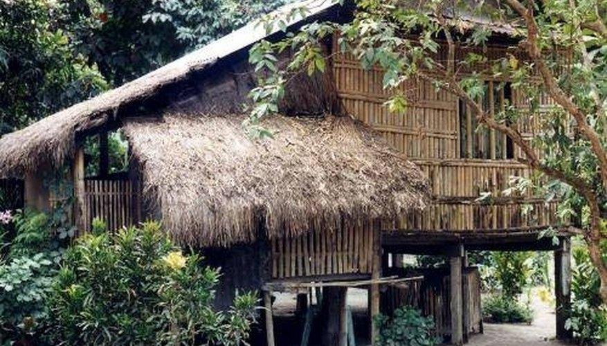 How To Build A Bamboo House Garden Guides