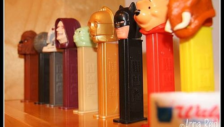 Make a Pez Display Shelf