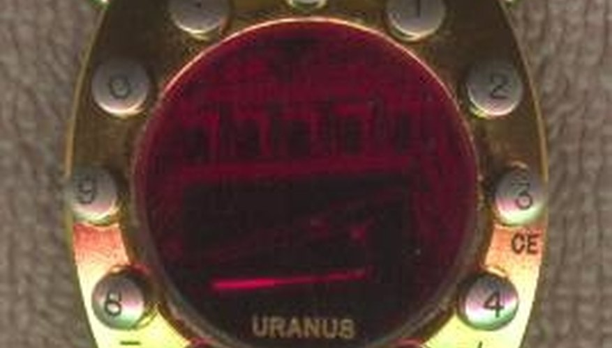 Uranus Solar Calculator watch, one of the rarest LED watches