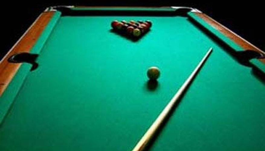 Replace Billiard Table Cloth