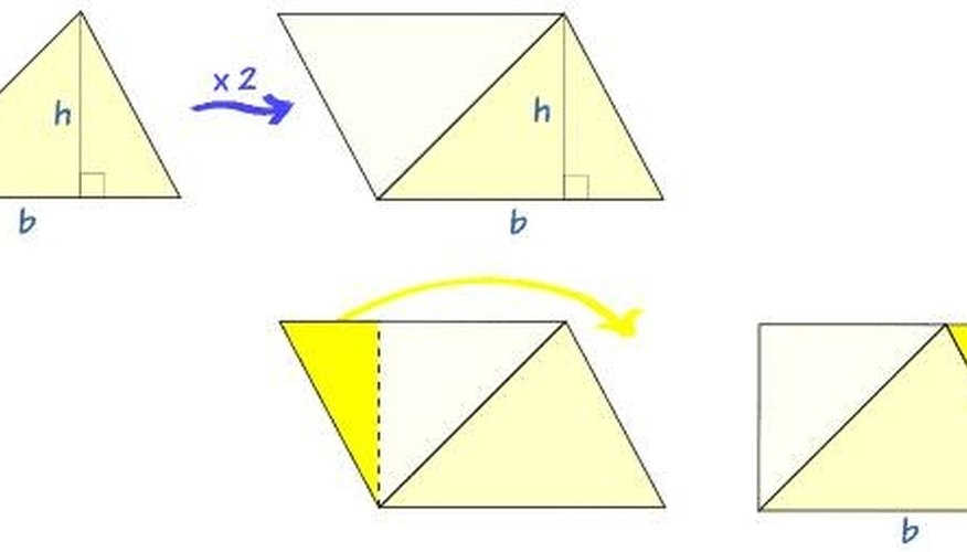 conversion of two triangle into a parallelogram