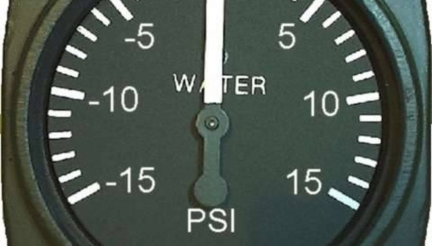 How To Calculate Water Pressure