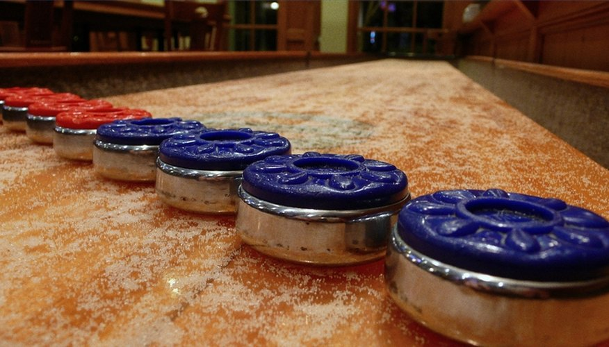 Shuffleboard Table Rules