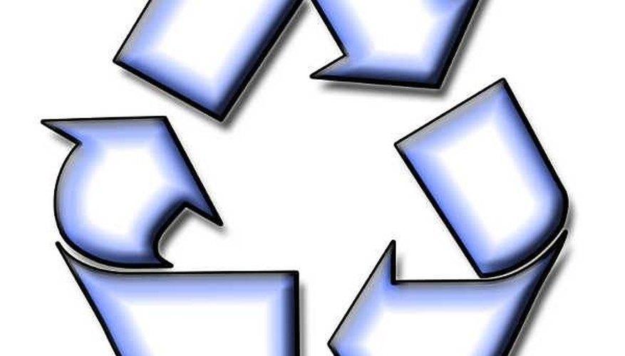 Reciclaje de cartón.
