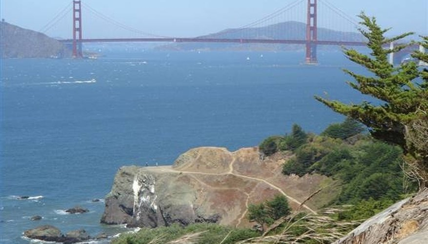 View of the Golden Gate from Land's End Trail