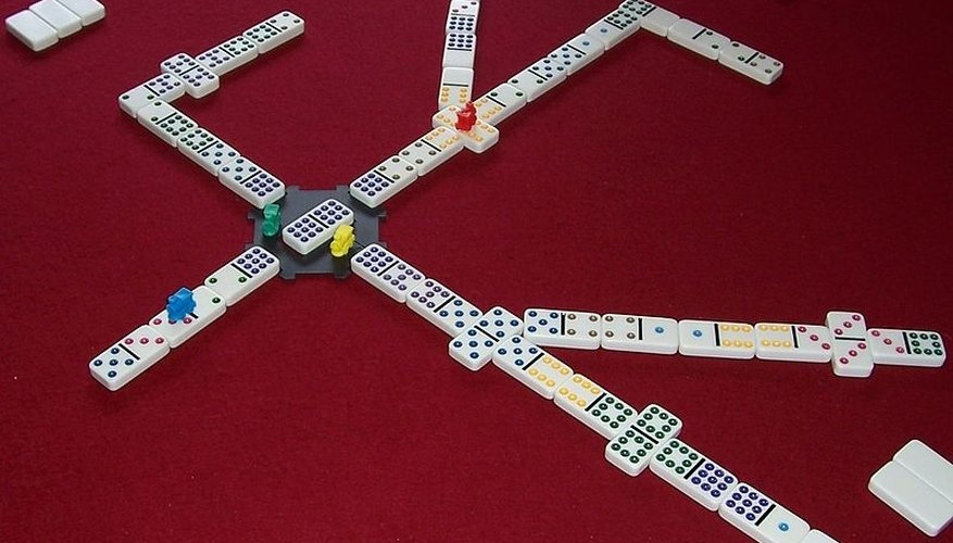 Rules for Playing Mexican Train Dominoes Game