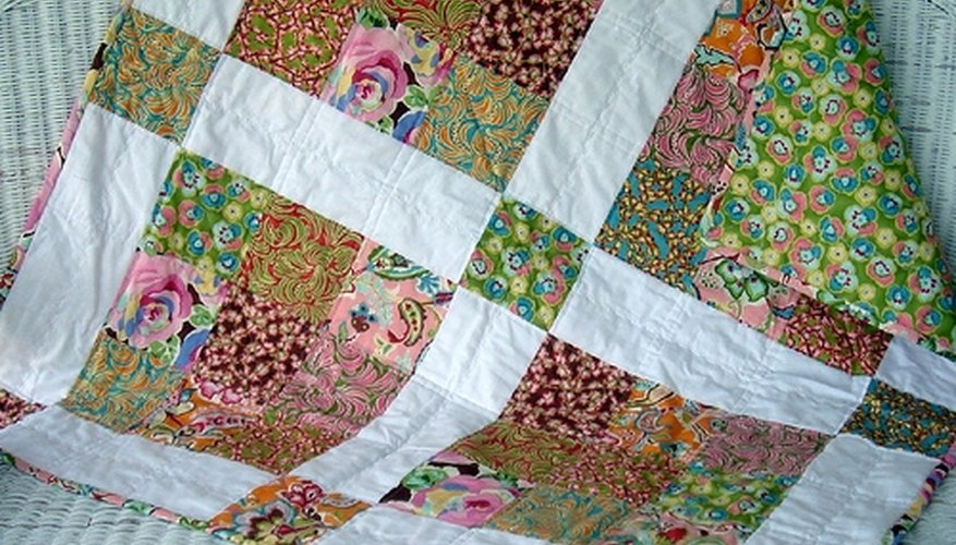 Beginning quilters should start with a small project.