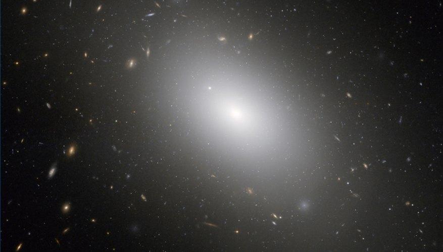 Eliiptical galaxy