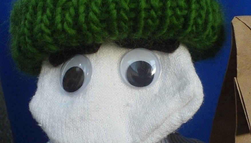Sock puppets are among the easiest homemade puppets to make