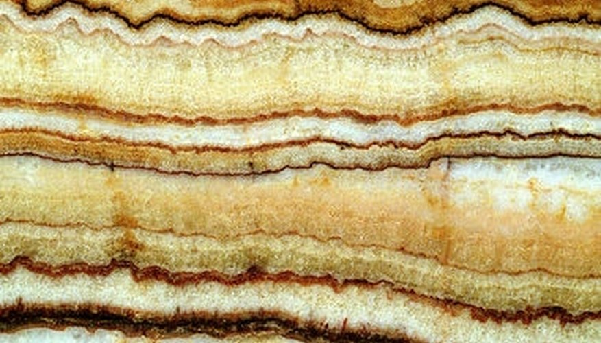 Stratigraphy relies upon fossil presence in layers of the Earth's crust to give them a date.