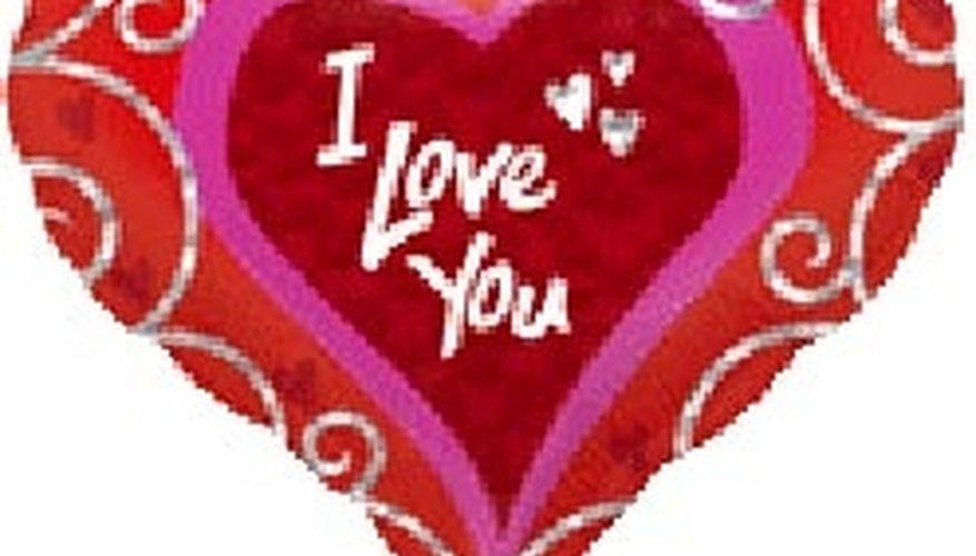 Make a romantic gift