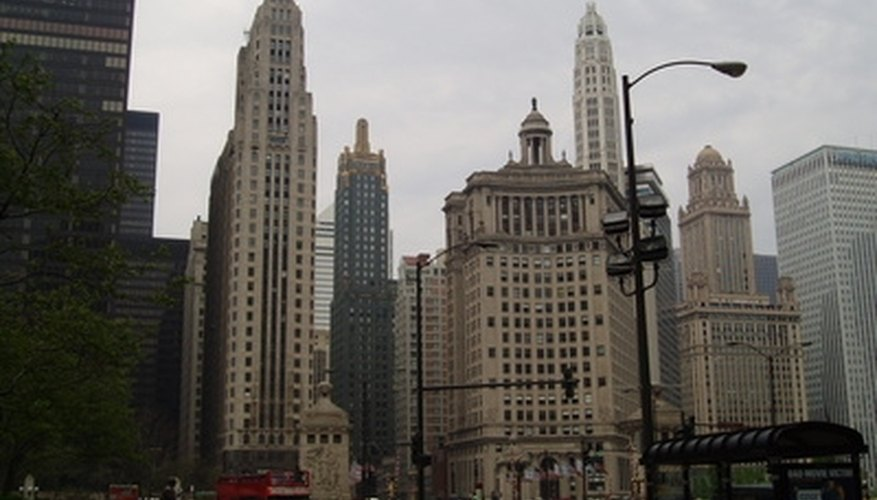 Chicago's Michigan Avenue is one of the romantic streets in America.
