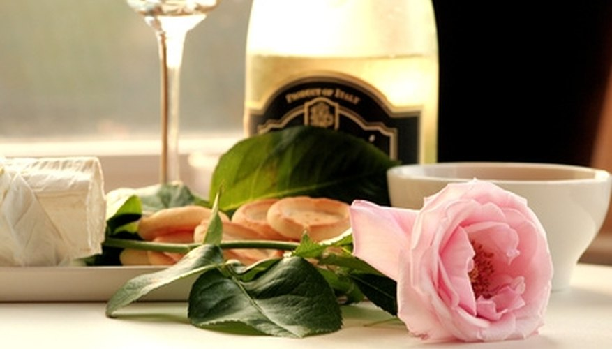 Fine wine enhances your romantic dining experience