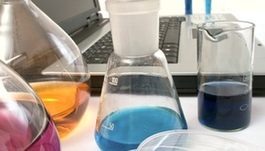 Electronic balances have become standard equipment in chemical laboratories.