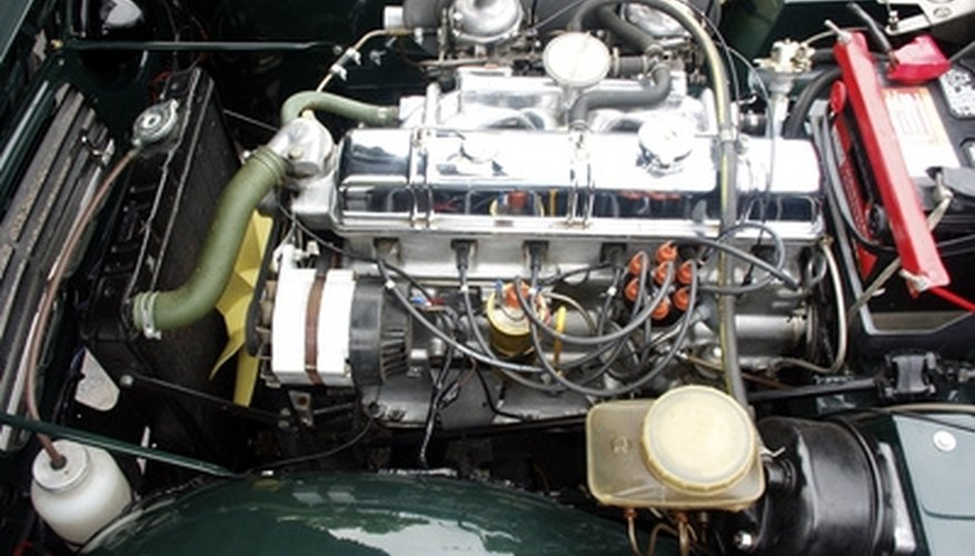 Some engines use an injector pump to inject fuel.