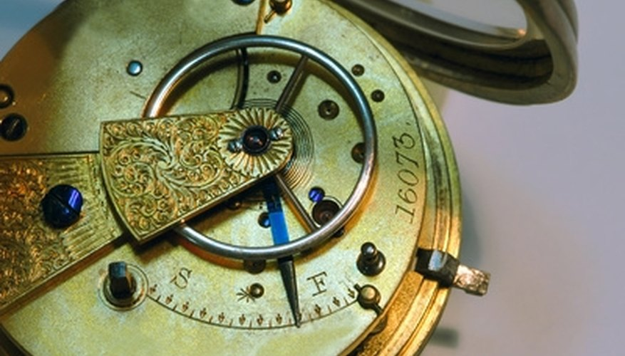 Collect antique pocket watches for a look into the past.