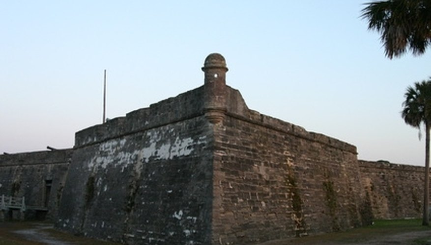 Castillo de San Marcos is just one of the historic attractions in St. Augustine.