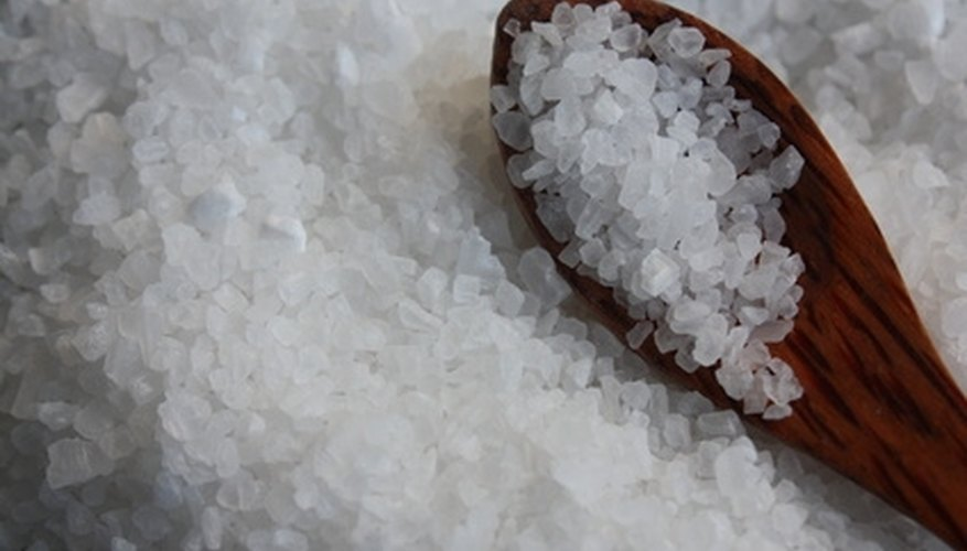 Calcium chloride is a white and crystalline powder.