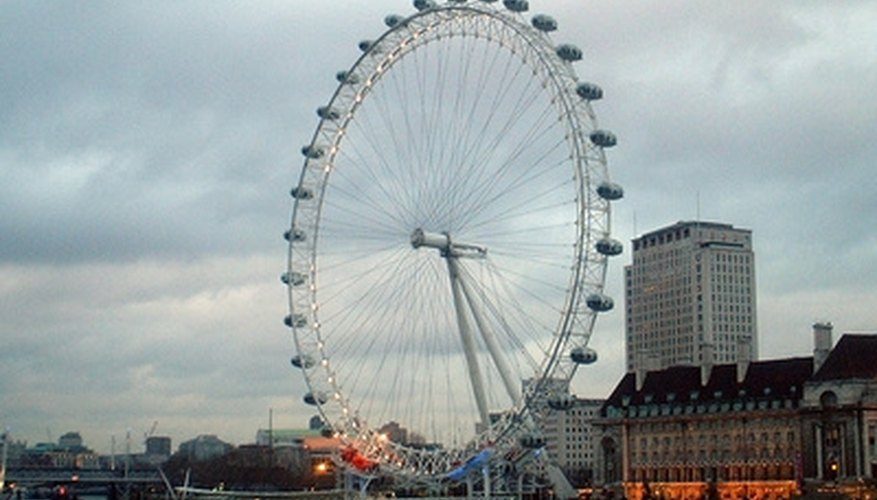 Enjoy the views from a private capsule on the London Eye.
