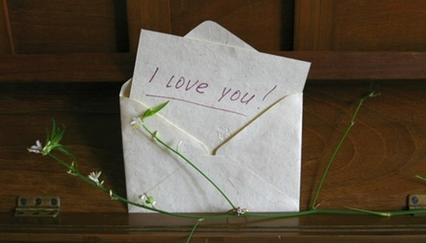 An old-fashioned love letter can inspire romance anew.