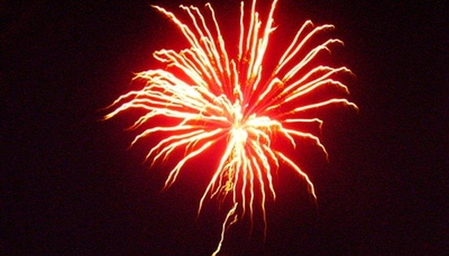 Fireworks over the park make this amusement park a couples' destination.