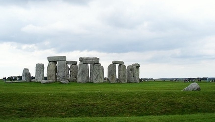 Experts used radiocarbon dating to pinpoint the age of Stonehenge and other famous sites.