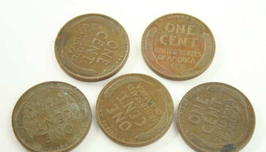 Wheat pennies are perhaps the most common collectible coin.