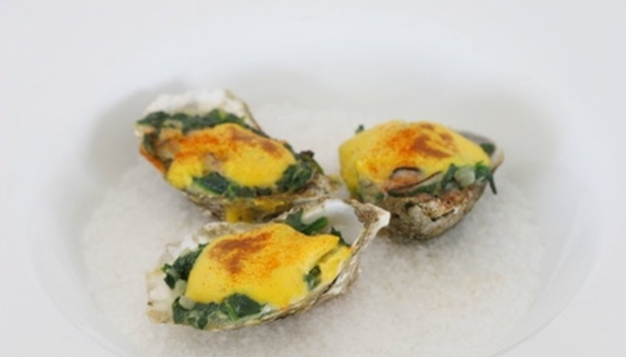 Oysters traditionally inspire romance.