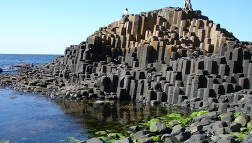 The Giants Causeway, part of Northern Ireland's dramatic and romantic landscape.