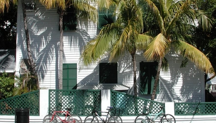 See historic homes in Key West, Florida.