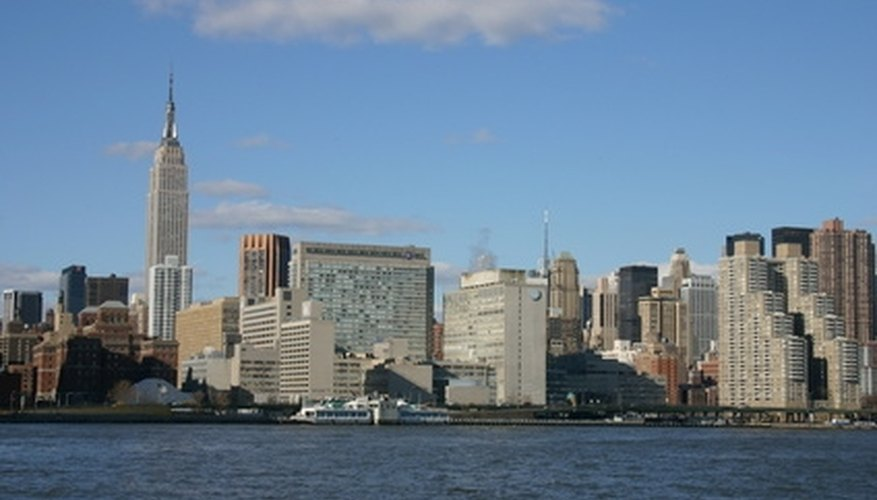 New York City is a combination of five boroughs.
