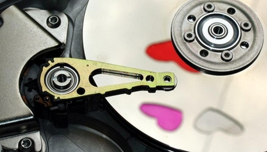 Neodymium magnets can be part of hard drives.