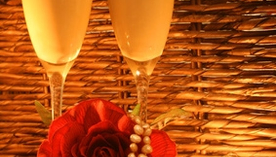 Orlando hotels offer romantic getaways featuring champagne and rose petal services.