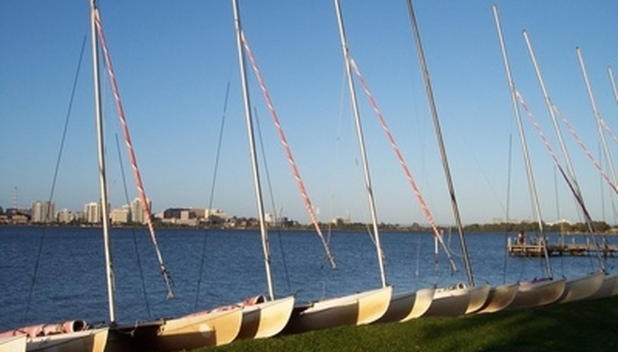 Perth's Swan River is a great setting for a romantic interlude.