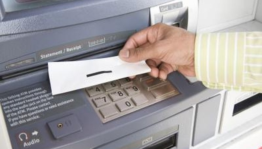 Making a deposit at a foreign ATM can save you time.