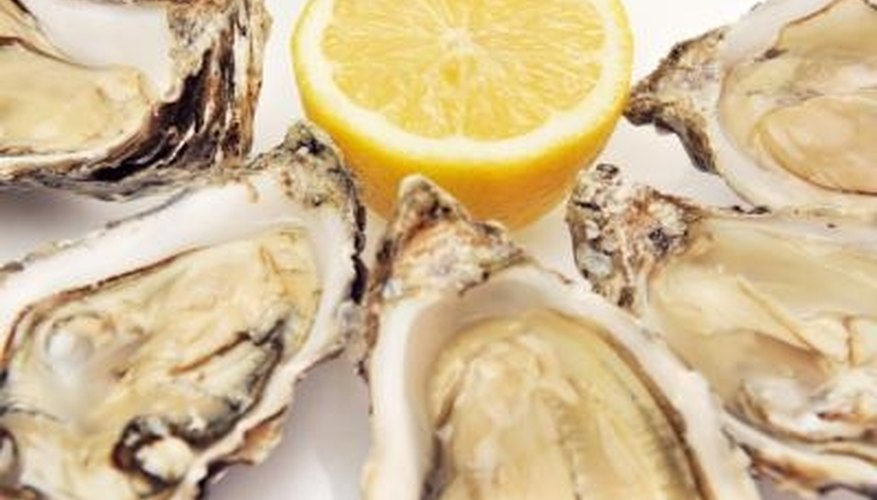Oysters are a classic romantic appetizer.