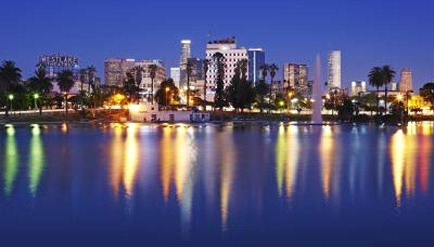 Los Angeles features a number of romantic activities for couples.