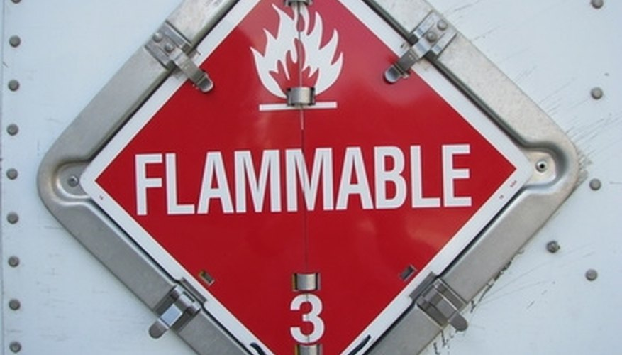 Hydrogen in its gas form is highly flammable.