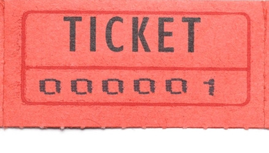 photo relating to Tickets Printable called How in the direction of Choose a Printable Blank Replica of Raffle Tickets Our