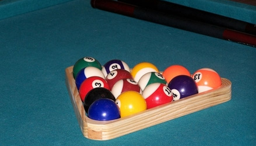 The felt on your pool table should be free of tears and bumps.