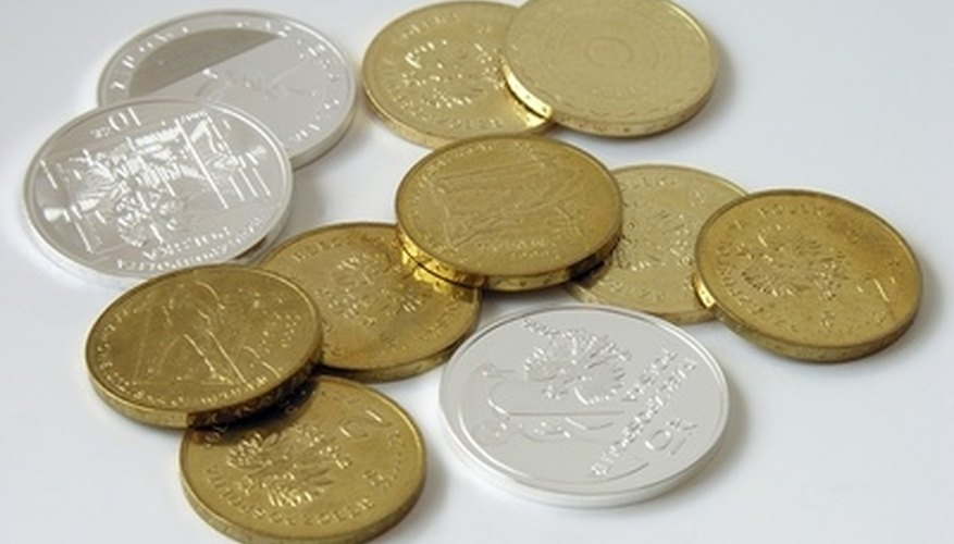 Have coins appraised before cleaning them yourself.
