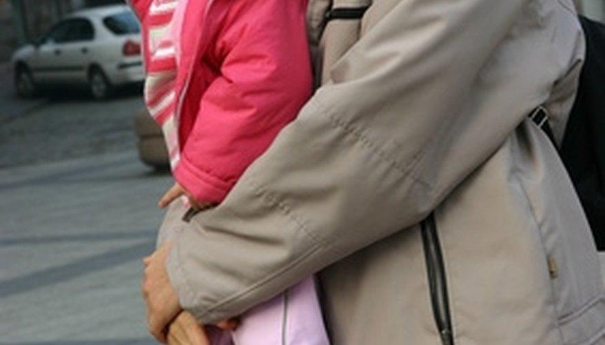 Younger children need help understanding why families split up.