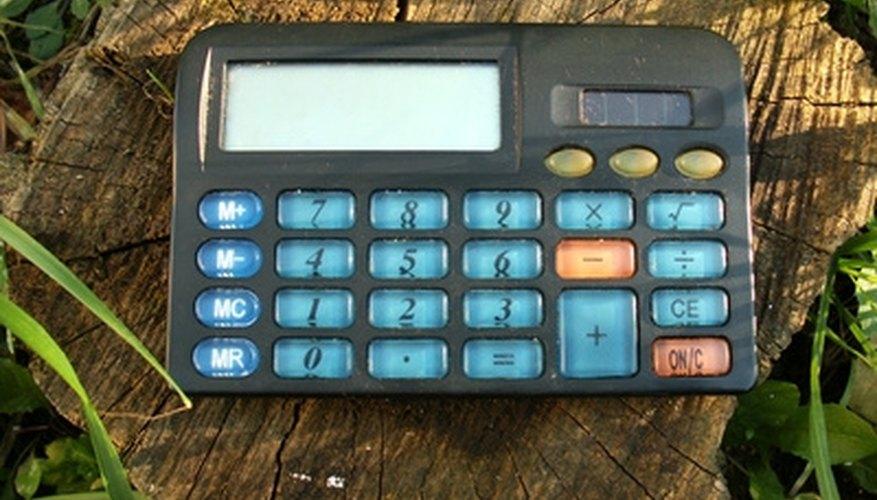 Una calculadora, un gran aliado.
