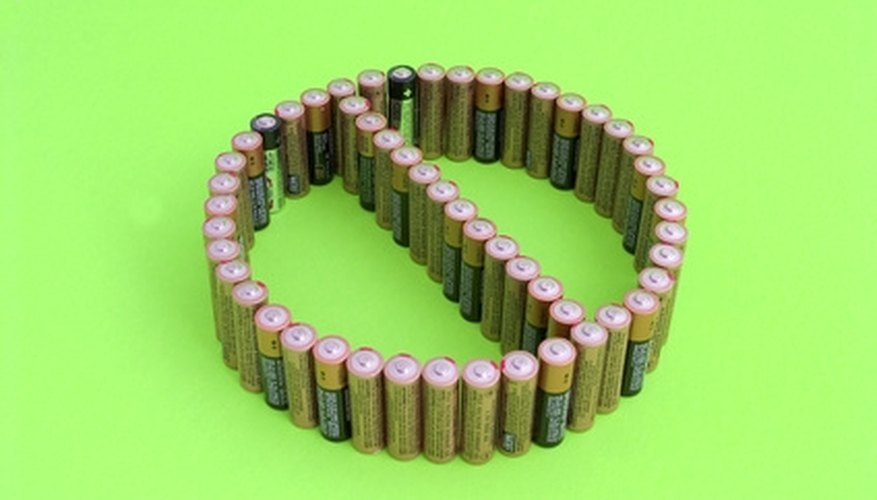 Certain batteries should not be connected in parallel.