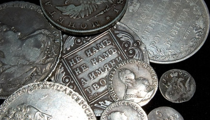 A coin collection should not be just thrown into a drawer.