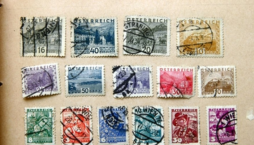 Postage stamps can find a new life when recycled.