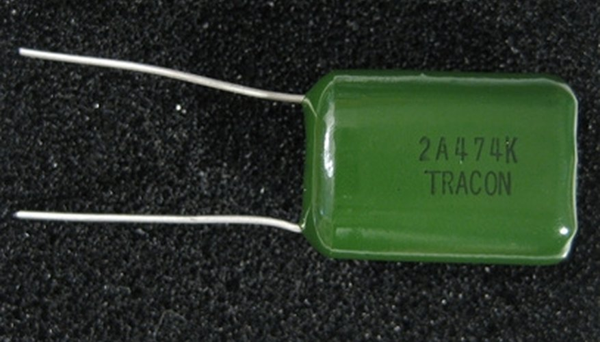 Capacitors come in many forms and can be composed of many different materials.